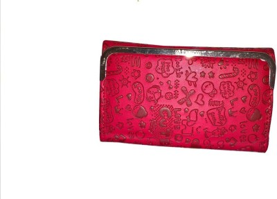 Aabha Stores Casual Red  Clutch