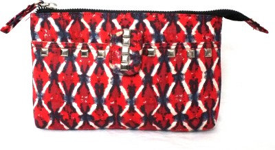 PO,UCH - UP Casual, Festive Red  Clutch