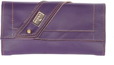 D Jindals Women Casual Purple  Clutch