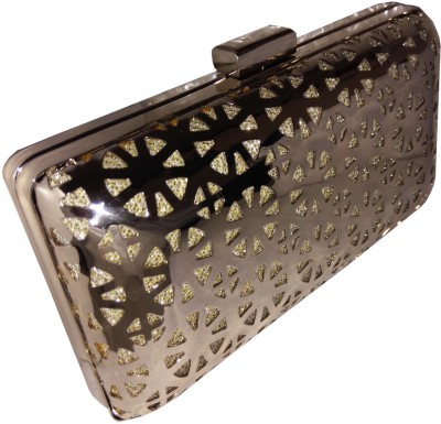 Lasslee Party Gold  Clutch