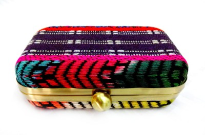 Kairan Jaipur Casual Multicolor  Clutch