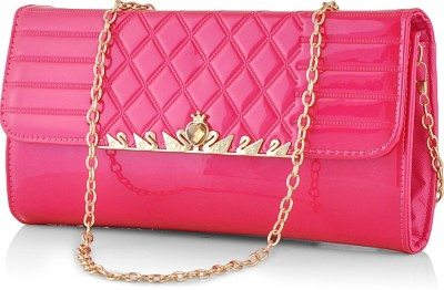 Eyeslanguage Casual Pink  Clutch