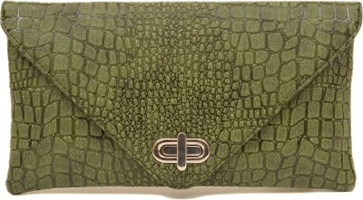 SG Collection Girls Casual Khaki  Clutch