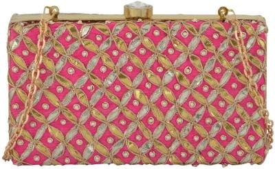 Arisha kreation Co Wedding Pink  Clutch