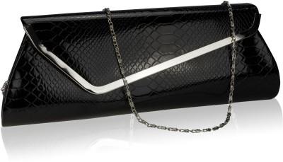 Neuste Girls Casual, Festive, Formal, Party Black  Clutch