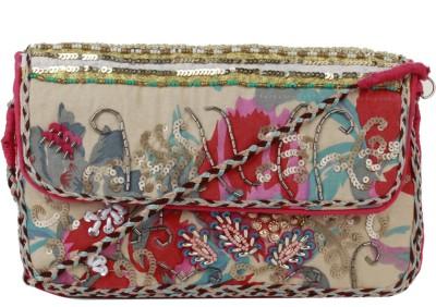 Tiara Multicolor  Clutch