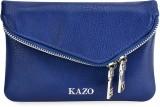 Kazo Women Casual Blue  Clutch