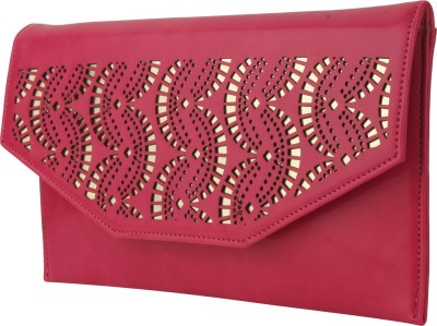 Do Bhai Women Festive Pink  Clutch