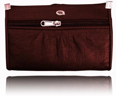 Samco Fas Women, Girls Purple Genuine Leather Wallet