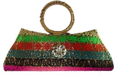 Modish Look Casual Multicolor  Clutch