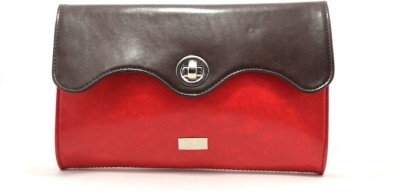Zofey Casual, Formal, Sports Red, Brown  Clutch