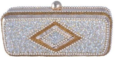 Posh Women Wedding Gold  Clutch