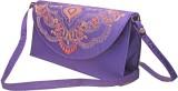 Slice Of Bengal Women Casual Purple  Clu...