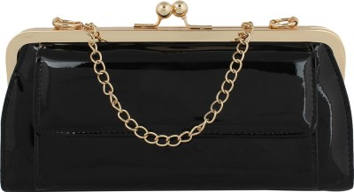 Cocktail Casual Black  Clutch