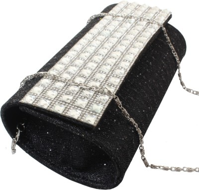 Dooda Party Black  Clutch