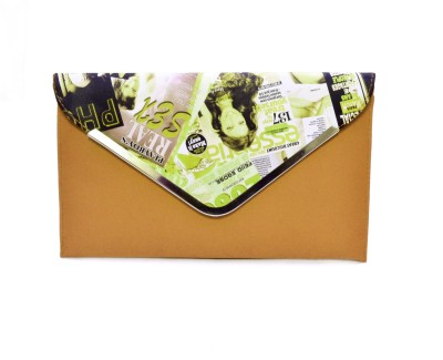 adglee Formal, Casual Brown  Clutch