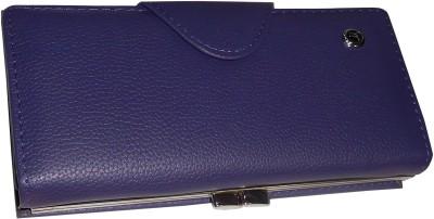 Samco Fas Girls, Women Purple Artificial Leather Wallet