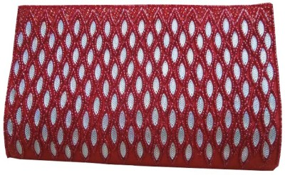 Spice Art Party Red  Clutch