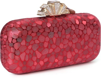 Zotti Women Festive Red  Clutch