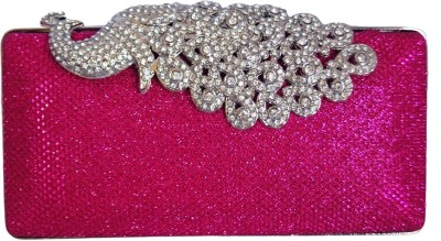 Chicastic Women Wedding Pink  Clutch