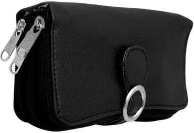 Magiq Women Casual, Formal Black Artificial Leather Wallet