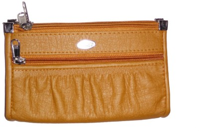 DesireMore Women Casual Brown  Clutch