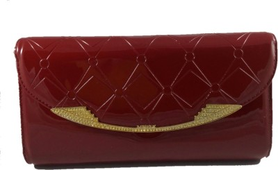 Dazzling Array Casual Maroon  Clutch