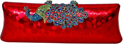 Glamora Red  Clutch