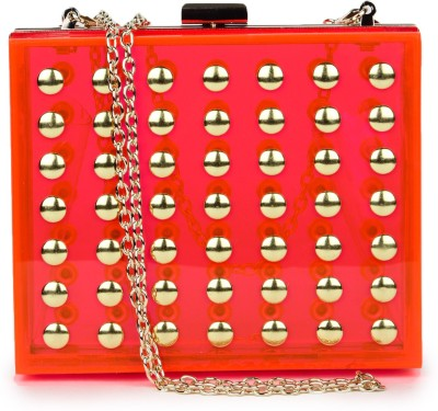 Amatra Girls, Women Casual, Party, Formal Pink  Clutch