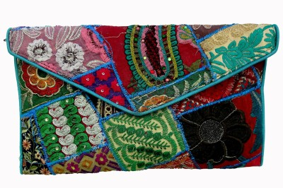 RTD Casual, Casual, Party, Formal, Festive Multicolor  Clutch