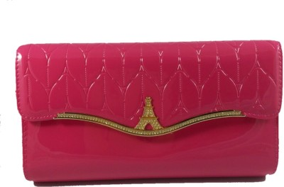 Dazzling Array Casual Pink  Clutch