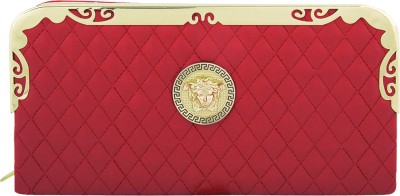 Polki Casual, Party Red  Clutch