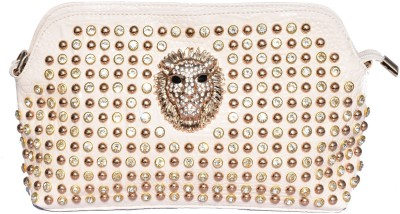 Basta Party White  Clutch