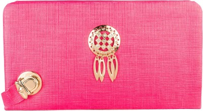 Louise Belgium Casual Pink  Clutch