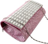 Dooda Women Party Pink  Clutch
