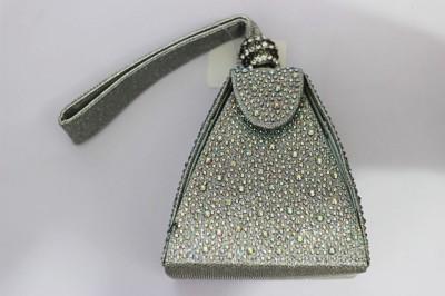 Shree Kala Fashions Silver  Clutch