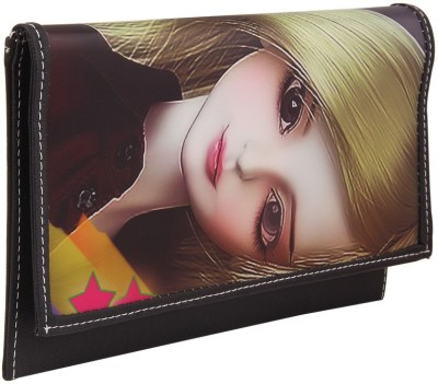 Gihaan Black  Clutch