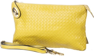 Vero Couture Casual Yellow  Clutch