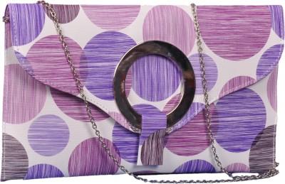 Speed Dot Women Party Purple  Clutch