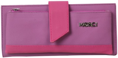 Merci Casual Purple, Pink  Clutch