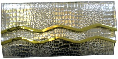 Divine Collection Girls Party Silver  Clutch