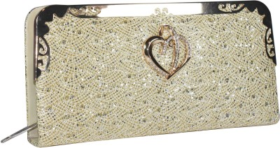Blis Vogue Wedding, Party, Festive, Casual Gold  Clutch
