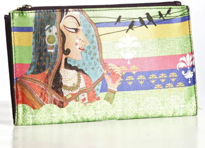 Aapno Rajasthan Women Casual Multicolor  Clutch