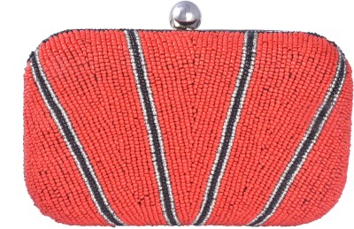 Posh Girls Party Red  Clutch