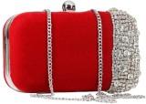 Sadaf Women Red  Clutch