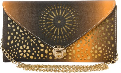 Desence Bags House Casual Brown  Clutch