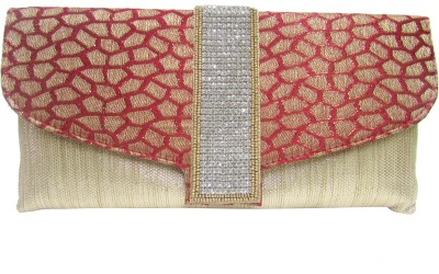 Balee Fashions Women Party Red  Clutch