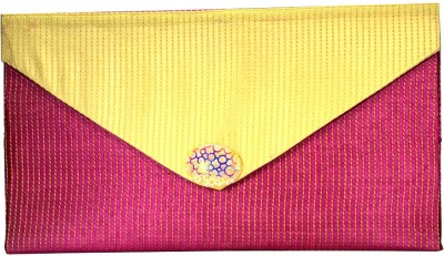 Arisha kreation Co Women Casual Pink  Clutch