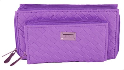 Magiq Girls Casual, Formal Purple Artificial Leather Wallet