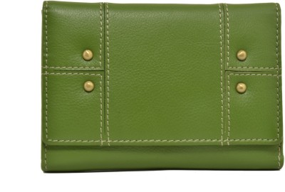 Indostyle Women Casual Green  Clutch